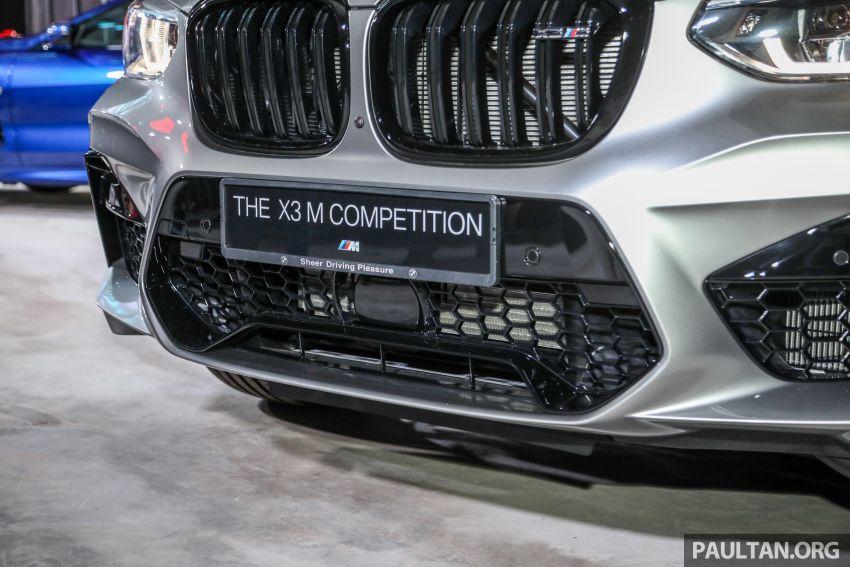 BMW X3  dan X4 M Competition 2020 dilancar di M'sia — 3.0L turbo, 510 hp / 600 Nm, harga dari RM887k Image #1161169