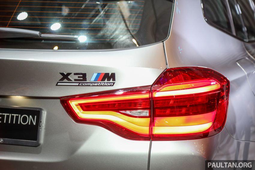 BMW X3  dan X4 M Competition 2020 dilancar di M'sia — 3.0L turbo, 510 hp / 600 Nm, harga dari RM887k Image #1161188