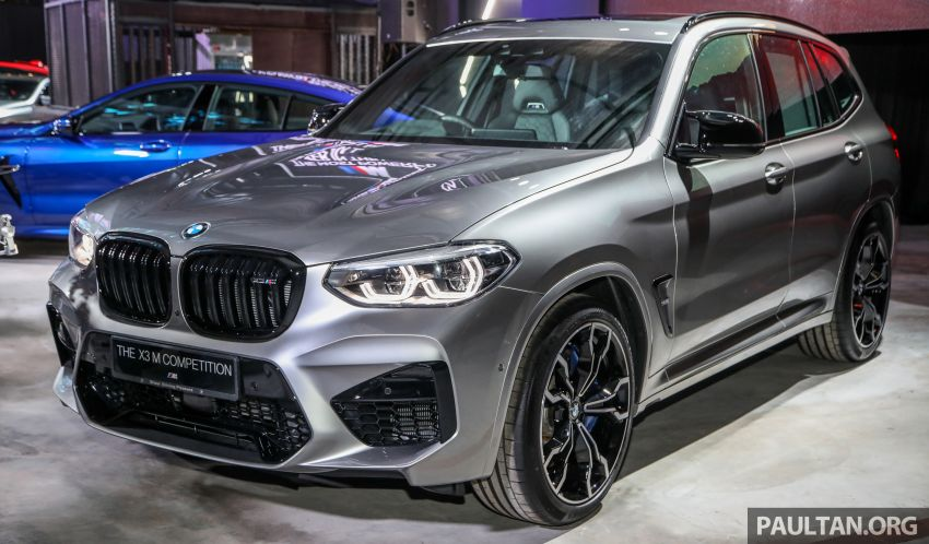 BMW X3  dan X4 M Competition 2020 dilancar di M'sia — 3.0L turbo, 510 hp / 600 Nm, harga dari RM887k Image #1161152