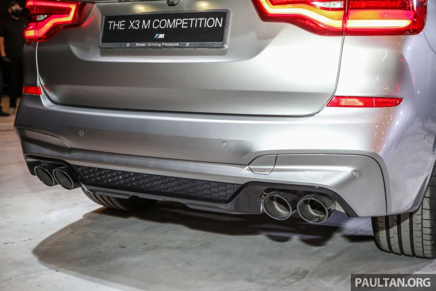 BMW X3  dan X4 M Competition 2020 dilancar di M'sia — 3.0L turbo, 510 hp / 600 Nm, harga dari RM887k Image #1161195