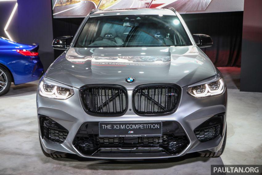 BMW X3  dan X4 M Competition 2020 dilancar di M'sia — 3.0L turbo, 510 hp / 600 Nm, harga dari RM887k Image #1161156
