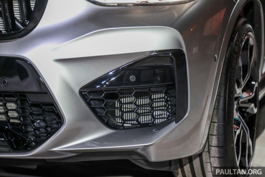 BMW X3  dan X4 M Competition 2020 dilancar di M'sia — 3.0L turbo, 510 hp / 600 Nm, harga dari RM887k Image #1161167