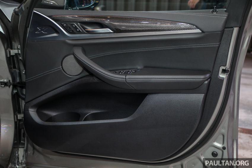 BMW X3  dan X4 M Competition 2020 dilancar di M'sia — 3.0L turbo, 510 hp / 600 Nm, harga dari RM887k Image #1161263