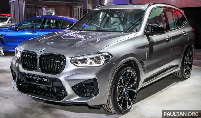 BMW X3  dan X4 M Competition 2020 dilancar di M'sia — 3.0L turbo, 510 hp / 600 Nm, harga dari RM887k Image #1160926