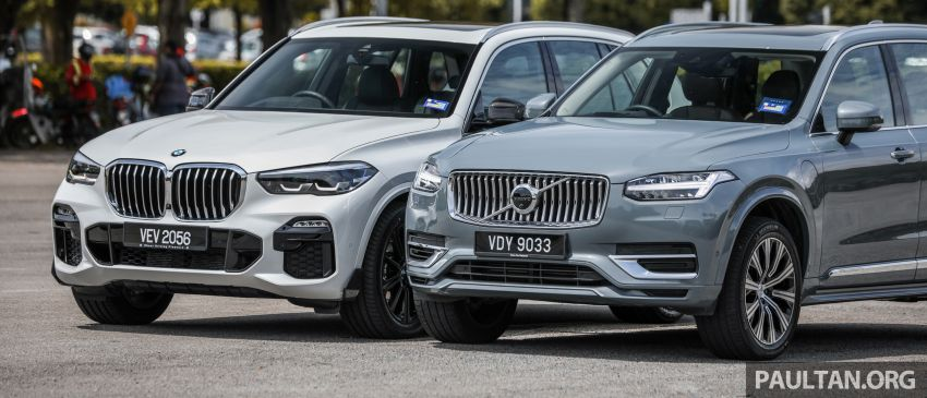 GALLERY: 2020 BMW X5 xDrive45e vs Volvo XC90 T8 – Malaysia's best-selling PHEV SUV models side-by-side Image #1164553