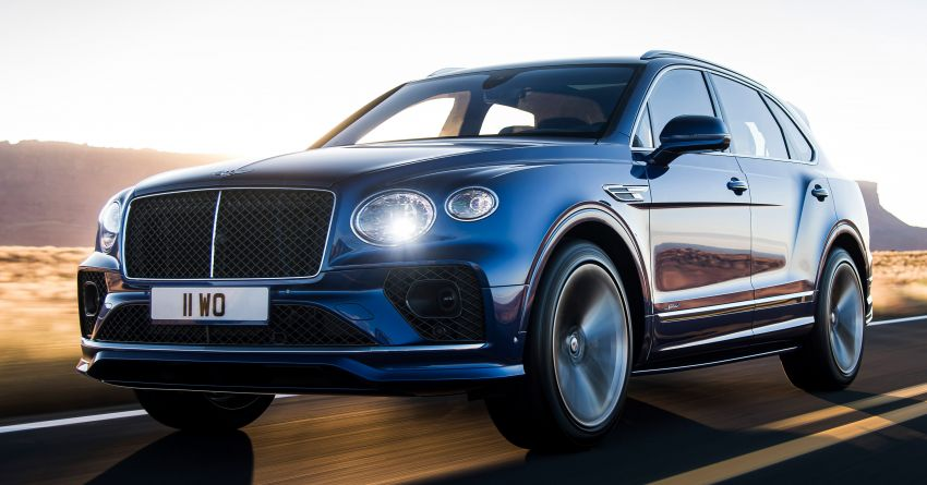 Bentley Bentayga Speed facelift debuts with 635 PS and 900 Nm – remains the fastest SUV in the world Image #1158680