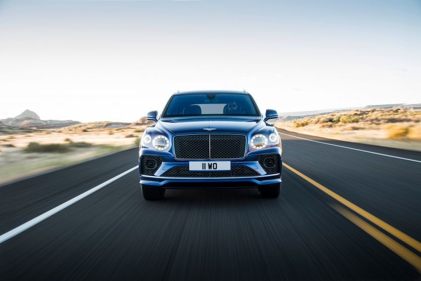 Bentley Bentayga Speed facelift debuts with 635 PS and 900 Nm – remains the fastest SUV in the world Image #1158683