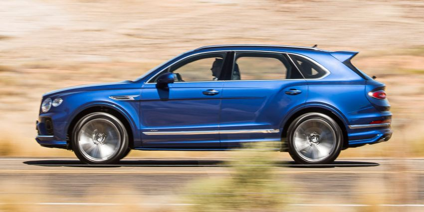 Bentley Bentayga Speed facelift debuts with 635 PS and 900 Nm – remains the fastest SUV in the world Image #1158684