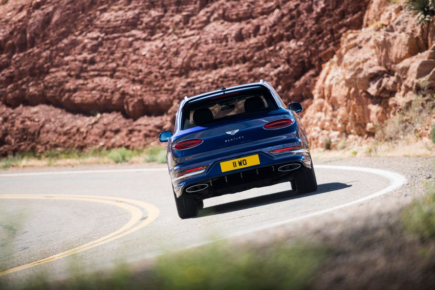 Bentley Bentayga Speed facelift debuts with 635 PS and 900 Nm – remains the fastest SUV in the world Image #1158685