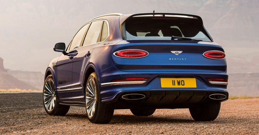 Bentley Bentayga Speed facelift debuts with 635 PS and 900 Nm – remains the fastest SUV in the world Image #1158687