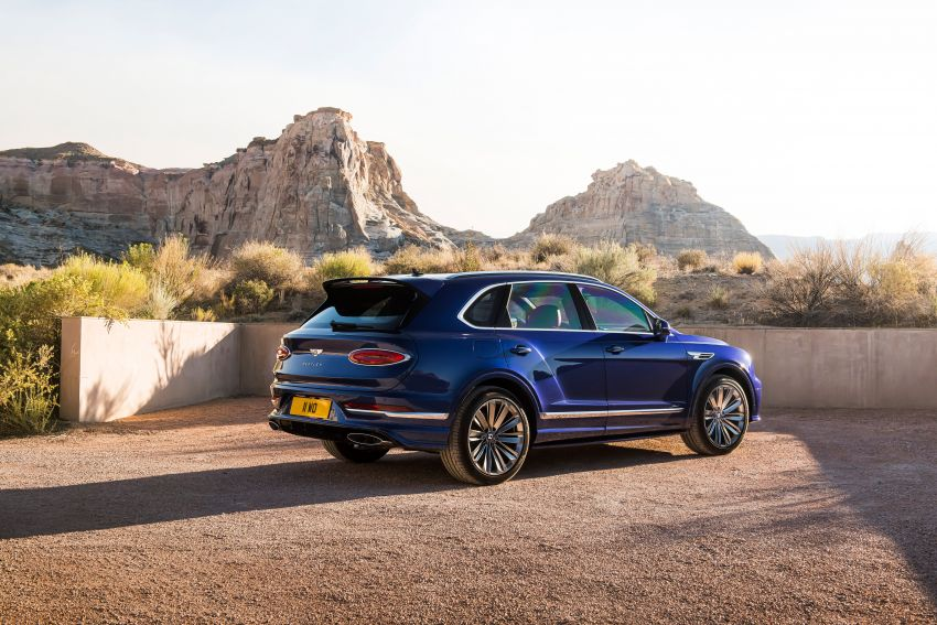 Bentley Bentayga Speed facelift debuts with 635 PS and 900 Nm – remains the fastest SUV in the world Image #1158688