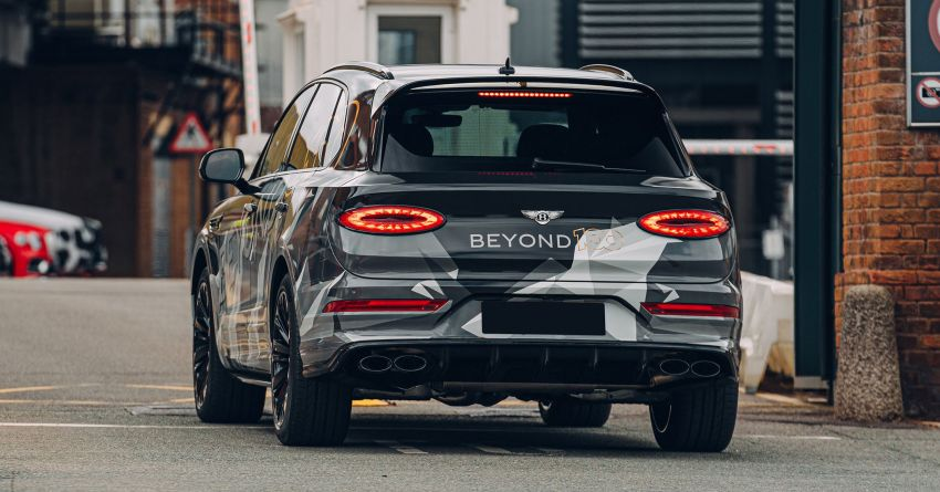 Bentley Bentayga Speed facelift to debut on Aug 12 Image #1157381