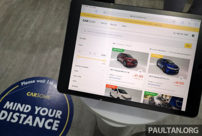 Carsome launches B2C online platform, flagship store – used car dealer with 5-day money-back guarantee Image #1166140