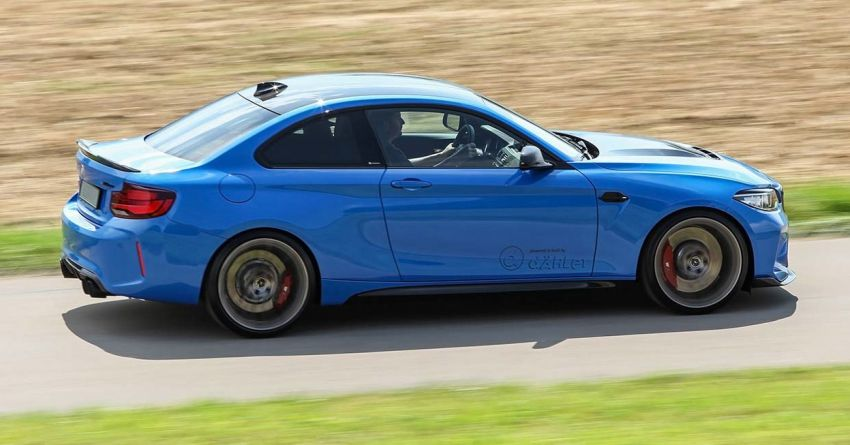 F87 BMW M2 CS tuned by Dahler – 550 PS and 740 Nm Image #1163031