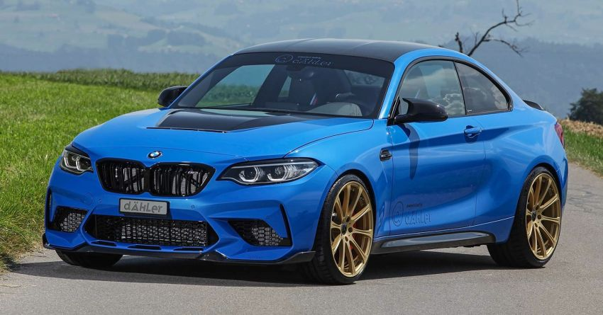 F87 BMW M2 CS tuned by Dahler – 550 PS and 740 Nm Image #1163026