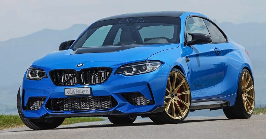 F87 BMW M2 CS tuned by Dahler – 550 PS and 740 Nm Image #1163027