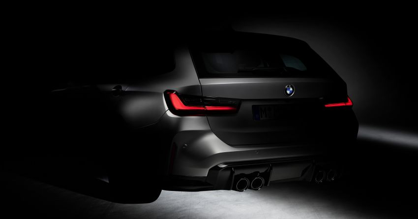 G81 BMW M3 Touring teased – first ever wagon M3! Image #1160021