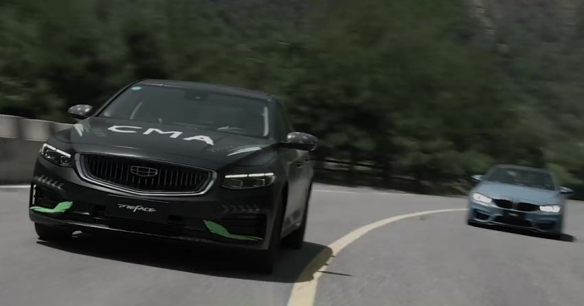 Geely Preface commercial takes aim at the BMW M4, Mercedes-AMG C63 Coupe and Porsche Panamera Image #1164349
