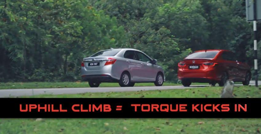 VIDEO: Honda City RS i-MMD hibrid bersenda dengan Toyota Vios, Camry, Perodua Bezza dan Nissan Almera Image #1160728