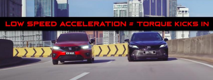 VIDEO: 2020 Honda City RS i-MMD hybrid ad takes a swipe at Toyota Vios, Camry and Perodua Bezza Image #1160822