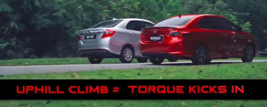 VIDEO: 2020 Honda City RS i-MMD hybrid ad takes a swipe at Toyota Vios, Camry and Perodua Bezza Image #1160823