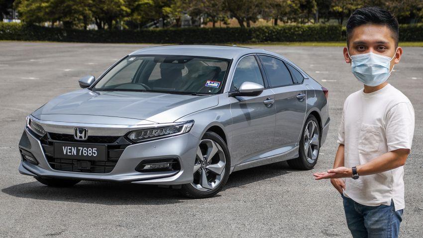 FIRST DRIVE: Honda Accord 1.5 TC-P M'sian review Image #1165074