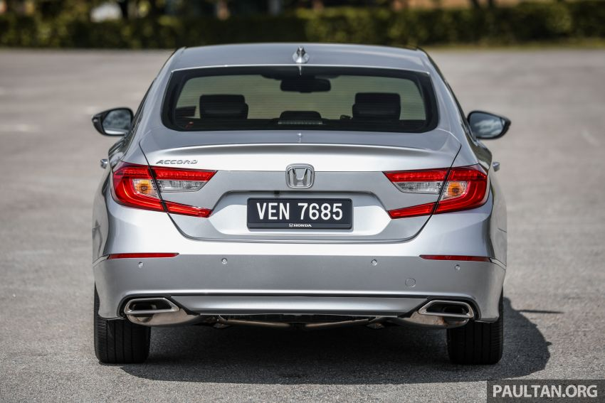 FIRST DRIVE: Honda Accord 1.5 TC-P M'sian review Image #1164985