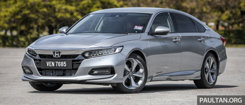 FIRST DRIVE: Honda Accord 1.5 TC-P M'sian review Image #1164976