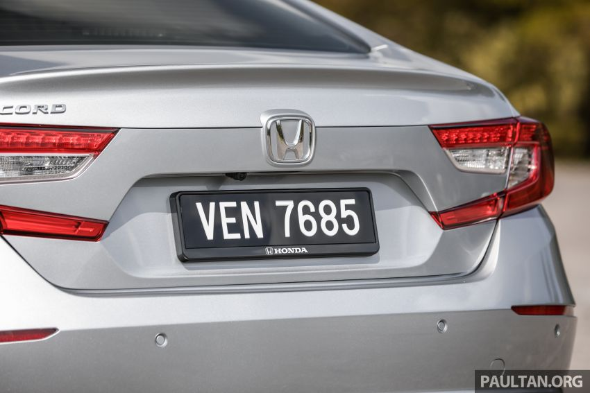 FIRST DRIVE: Honda Accord 1.5 TC-P M'sian review Image #1165008