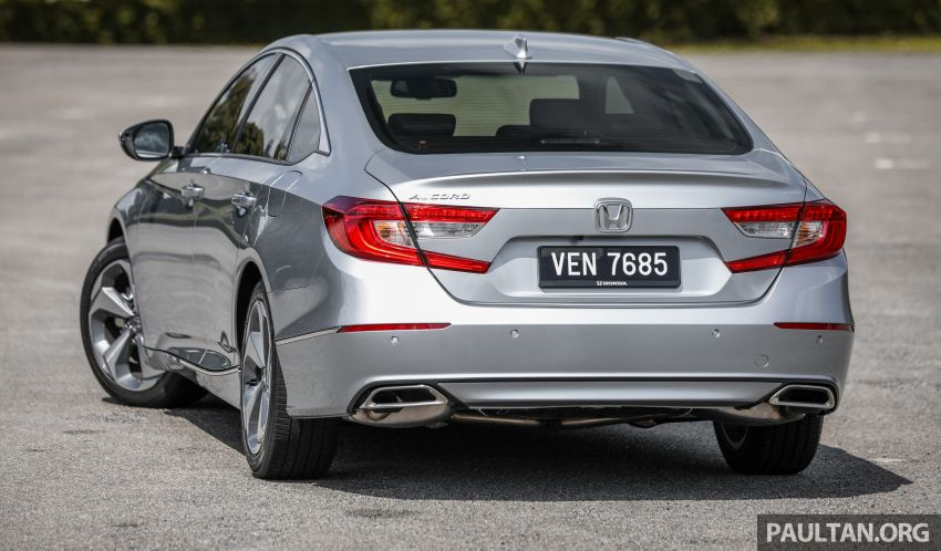 FIRST DRIVE: Honda Accord 1.5 TC-P M'sian review Image #1164981