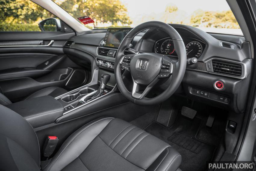 FIRST DRIVE: Honda Accord 1.5 TC-P M'sian review Image #1165013