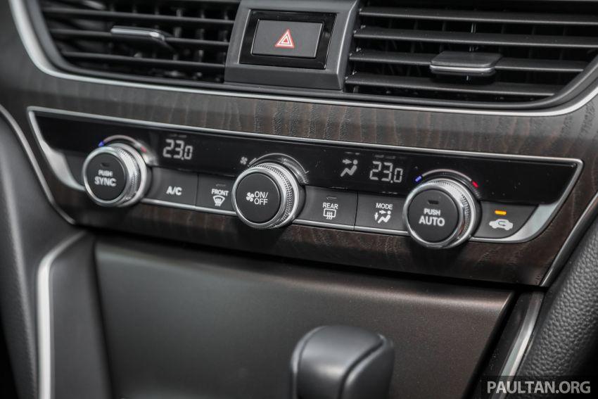FIRST DRIVE: Honda Accord 1.5 TC-P M'sian review Image #1165038