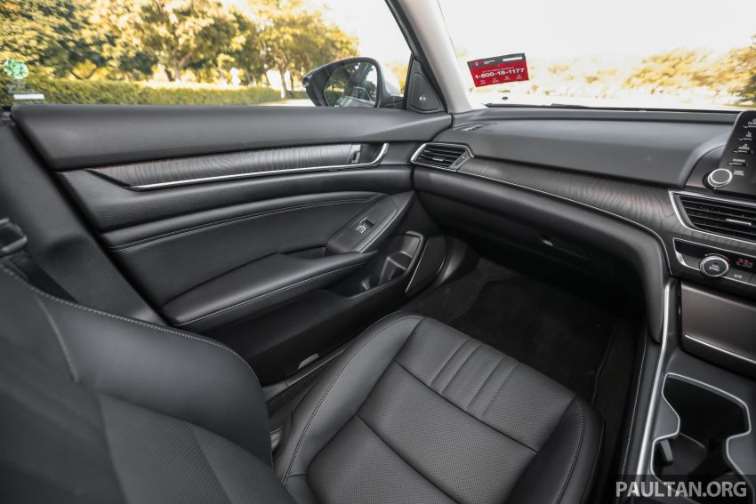 FIRST DRIVE: Honda Accord 1.5 TC-P M'sian review Image #1165053