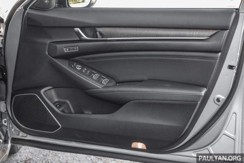 FIRST DRIVE: Honda Accord 1.5 TC-P M'sian review Image #1165054