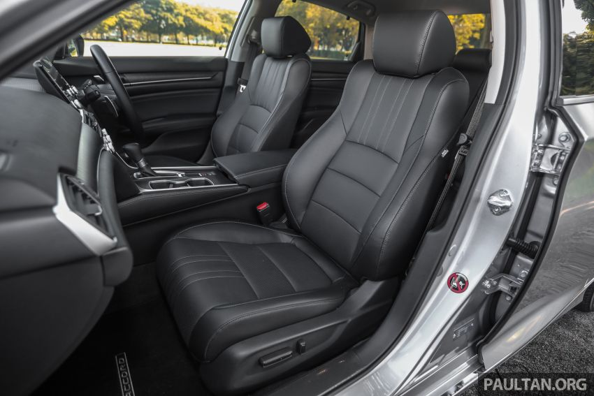 FIRST DRIVE: Honda Accord 1.5 TC-P M'sian review Image #1165058