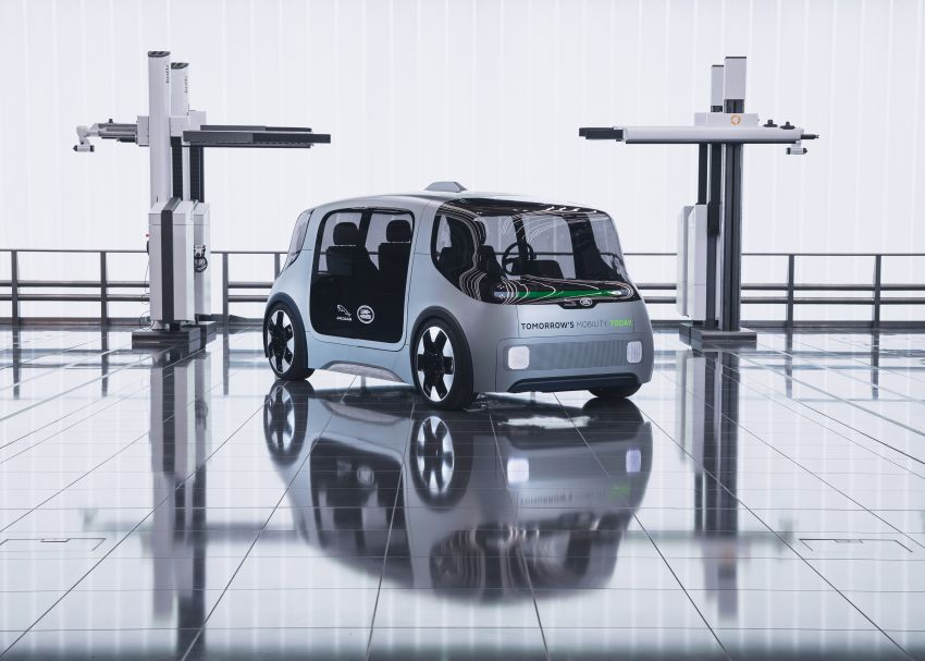 Jaguar Land Rover developing software to reduce passenger motion sickness in autonomous vehicles Image #1155962