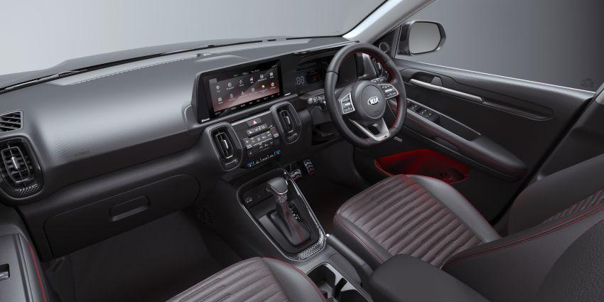 Kia Sonet ditunjuk — SUV segmen A, gear iMT enam-kelajuan, penapis udara dengan perlindungan virus Image #1157933