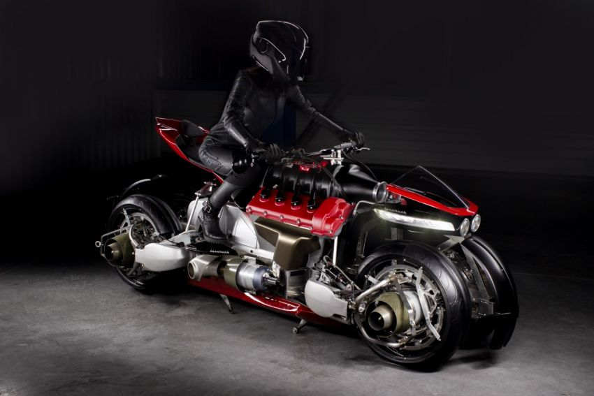 Malaysia's flying car? Here's the Lazareth LMV 496 flying motorcycle from France, and it actually flies Image #1155560