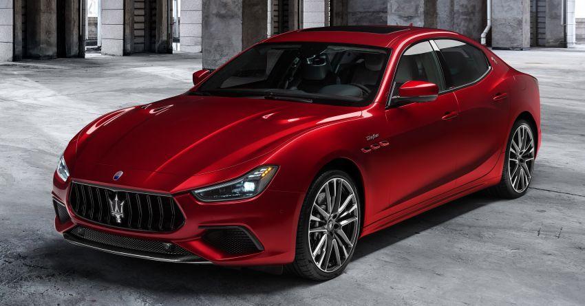 Maserati debuts Trofeo versions of the Ghibli and Quattroporte – 3.8L Ferrari V8; 580 PS and 730 Nm Image #1157963