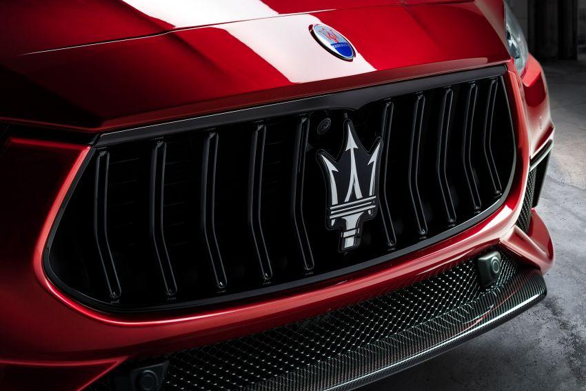 Maserati debuts Trofeo versions of the Ghibli and Quattroporte – 3.8L Ferrari V8; 580 PS and 730 Nm Image #1157966