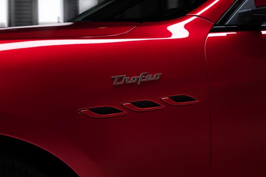 Maserati debuts Trofeo versions of the Ghibli and Quattroporte – 3.8L Ferrari V8; 580 PS and 730 Nm Image #1157968