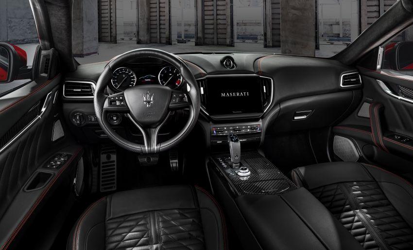 Maserati debuts Trofeo versions of the Ghibli and Quattroporte – 3.8L Ferrari V8; 580 PS and 730 Nm Image #1157969