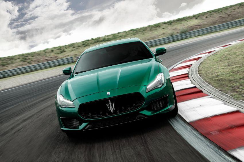 Maserati debuts Trofeo versions of the Ghibli and Quattroporte – 3.8L Ferrari V8; 580 PS and 730 Nm Image #1157997