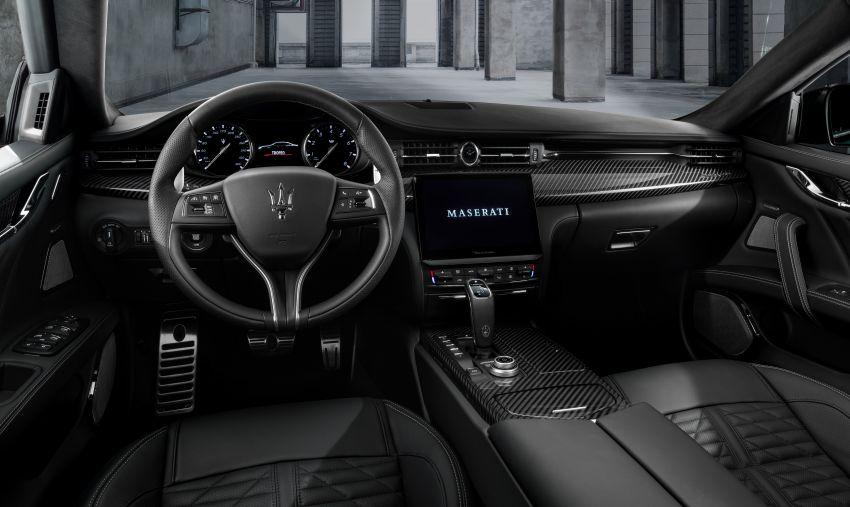 Maserati debuts Trofeo versions of the Ghibli and Quattroporte – 3.8L Ferrari V8; 580 PS and 730 Nm Image #1157994