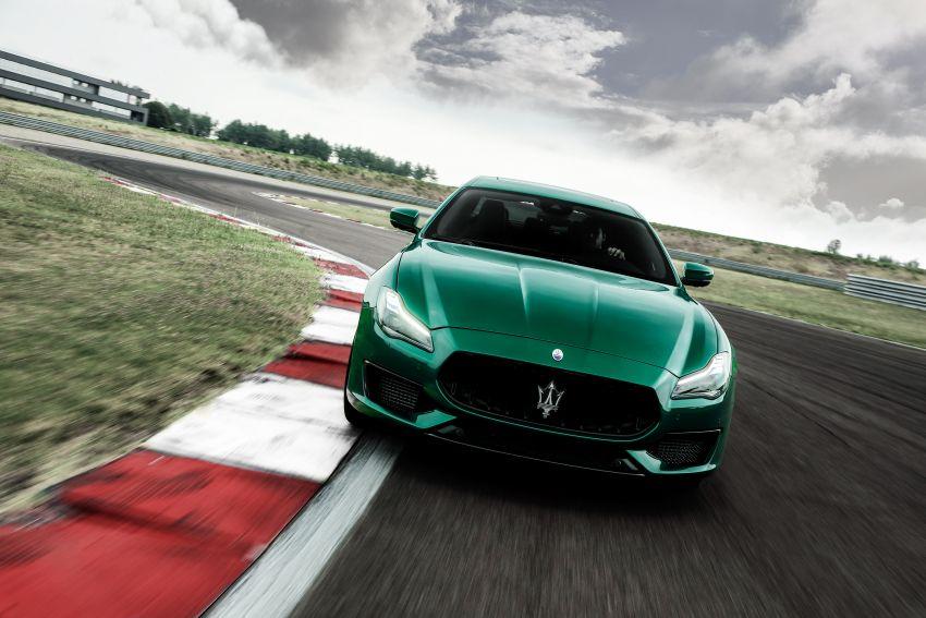 Maserati debuts Trofeo versions of the Ghibli and Quattroporte – 3.8L Ferrari V8; 580 PS and 730 Nm Image #1157995