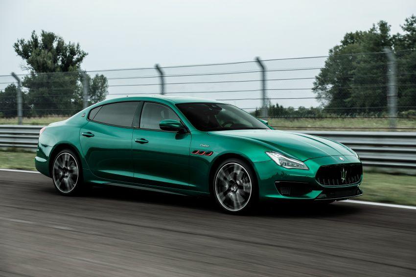 Maserati debuts Trofeo versions of the Ghibli and Quattroporte – 3.8L Ferrari V8; 580 PS and 730 Nm Image #1157996