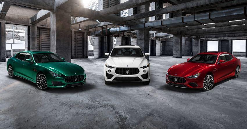 Maserati debuts Trofeo versions of the Ghibli and Quattroporte – 3.8L Ferrari V8; 580 PS and 730 Nm Image #1157960