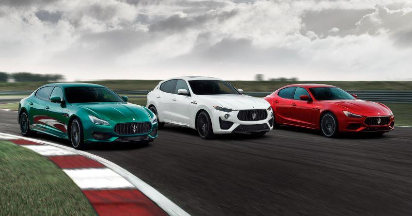 Maserati debuts Trofeo versions of the Ghibli and Quattroporte – 3.8L Ferrari V8; 580 PS and 730 Nm Image #1157961