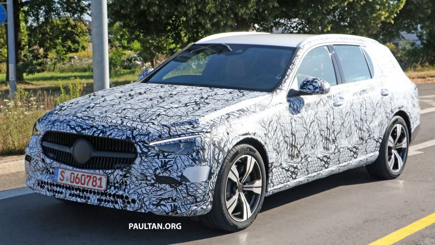 SPYSHOTS: Mercedes-Benz C-Class station wagon seen testing; 'X206' All-Terrain variant to join line-up Image #1158598