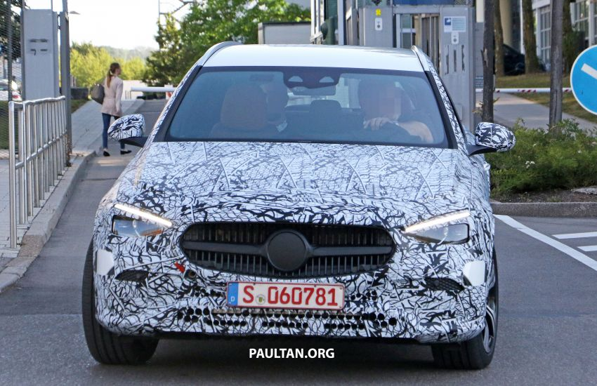 SPYSHOTS: Mercedes-Benz C-Class station wagon seen testing; 'X206' All-Terrain variant to join line-up Image #1158611
